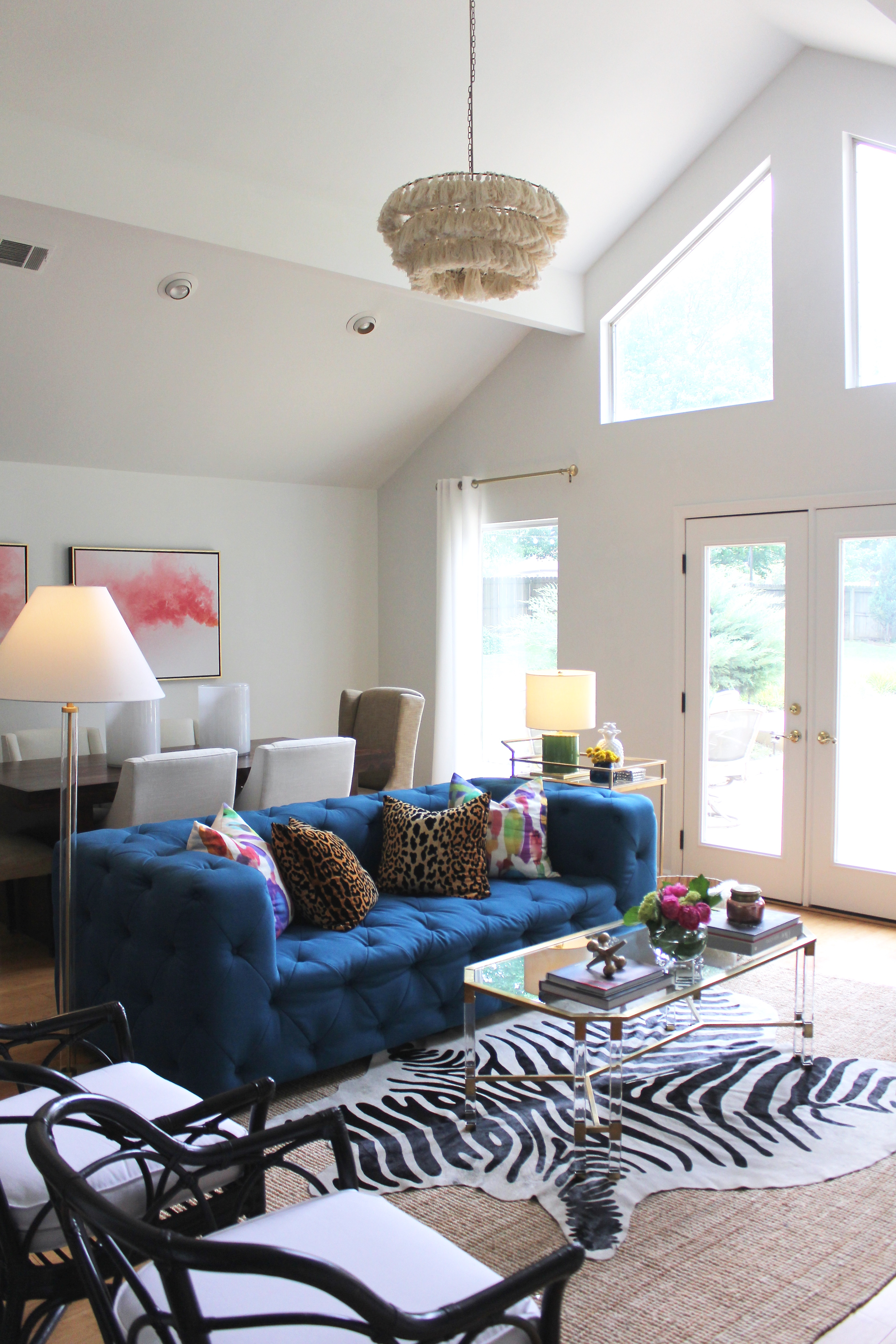Room Reveal With Rugs Usa Curvy Fashion