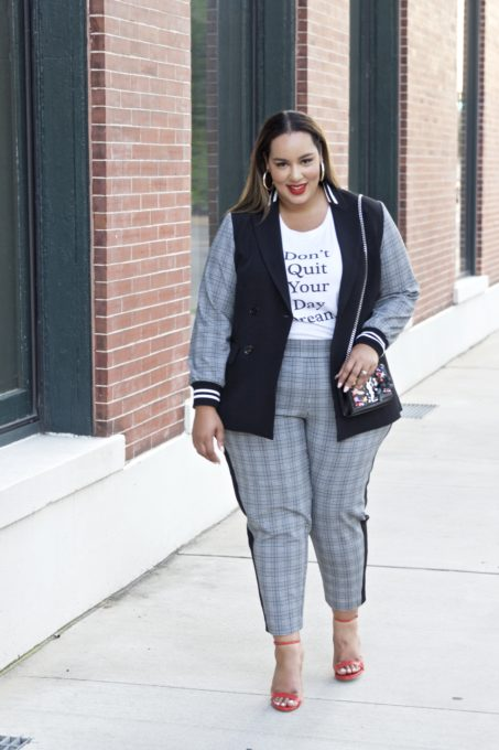 b0eebbb80fd Sporty Fall Style that you can Wear to the Office